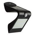 Napelemes oldalfali lámpa (fekete) 1.5 Watt