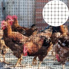 Műanyag rács, 15x15 mm szemméret, BOP 100 kerítés (1x200 méter) fekete
