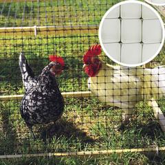 Műanyag csibeháló, 24x27 mm szemméret, Avinet 36 kerítés (1 x 10 méter)