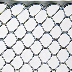 Műanyag baromfirács, 15x15 mm szemméret, ESA (1 x 50 méter) ezüst