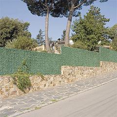 Árnyékoló műsövény, 90%-os takarás, GREENWITCH (1,5x3 méter) zöld-barna