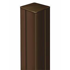 - Térelválasztó panelhez oszlop: Alupost tartóoszlop (115 cm) barna