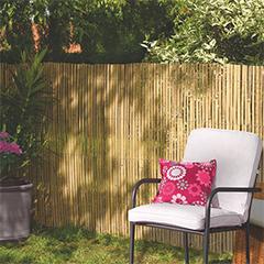 Belátásgátló 75%, hasított bambusznád kerítés BAMBOOCANE (1.5x5 méter)
