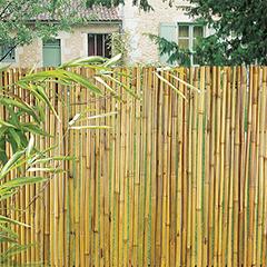 Belátásgátló 90%, rúd bambusznád kerítés - BAMBOOFLEX (1.5x3 méter)