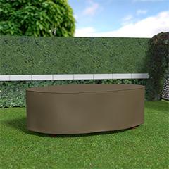 - Covertop kerti bútortakaró (230x130x70cm) ovális asztal