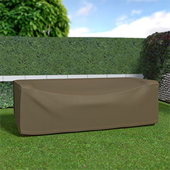 COVERTOP Kerti bútortakaró (230x100x70cm) drapp