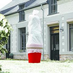 HIVERTEX fagykár elleni nem szőtt textília, 30 g/m2, fehér színű (4x6méter)