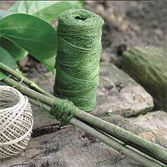 JUTE természetes zsineg (50 méter) zöld