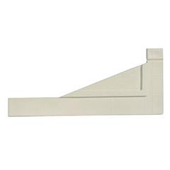 - Térelválasztó panelhez összekötő elem: sarokrögzítő Perfix (2 darab) fehér