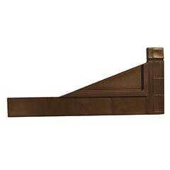 - Térelválasztó panelhez összekötő elem: sarokrögzítő Perfix (2 darab) barna