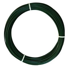 PLAST WIRE műanyag bevonatos huzaldrót (0.7 mm x 100 méter/tekercs) zöld