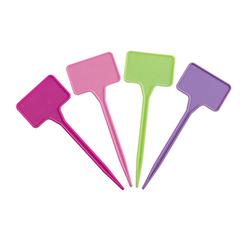 LABEL 15 COLOR műanyag, leszúrható jelölőtábla (16db/csomag) több színben