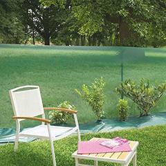 Műanyag széltörő kerítés rács, 4x4 mm szemméret, WINDANET (1 x 5 méter) zöld