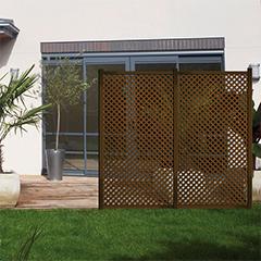 - Térelválasztó panel - dekorpanel Privat (100x200cm) barna