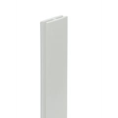 - Térelválasztó panelhez vízszintes közdarab -  H profil (200 cm) fehér