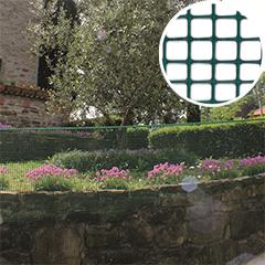 Műanyag rács, 5x5 mm szemméret, Square (0.5 x 5 méter) antracit