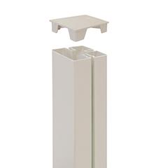 - Térelválasztó panel oszlophoz végzáró - Tap Alupost (2 darab) fehér