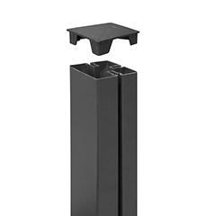 - Térelválasztó panel oszlophoz végzáró - Tap Alupost (2 darab) szürke