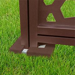 - Térelválasztó panelhez rögzítő alaphoz burkolat - Tap Basfix (2 darab) barna