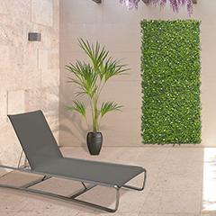 Vertical Jasmin műanyag zöldfal jázmin virággal (100x100 cm)