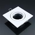 - Olcsó négyzet alakú spot lámpatest, billenthető, fehér (VT)