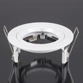 - Olcsó flat design spot lámpatest (kör), fix, fehér