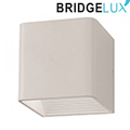Pyramid oldalfali lámpatest, fehér (5W BL) meleg fehér