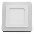 CR80 LED panel (négyzet, oldalvil.) 6+2W - hideg fényű