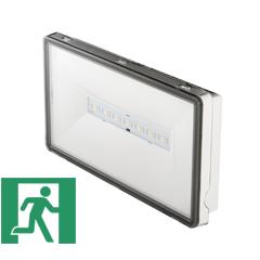 Ontec S LED vészvilágító lámpatest, 3 órás IP65