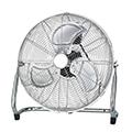 - Padló ventilátor króm színben (45 cm - 140 Watt)