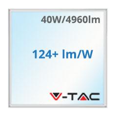 LED panel (600 x 600 mm) 40W - hideg fehér IP65 UTOLSÓ DARABOK!