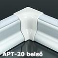 APT-20 Világító parkettaszegély profil - belső sarokelem
