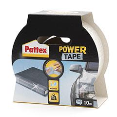Power Tape Ragasztószalag, extra erős, kézzel téphető, átlátszó (10m x 48mm)