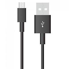 Pearl USB - Micro USB adatkábel, töltőkábel (1 méter) fekete - USB 2.0