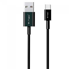 Pearl USB - USB-C adatkábel, töltőkábel (1 méter) fekete - USB 2.0