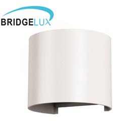 Pegasi kültéri lámpatest, fehér, kör (6W) meleg fehér
