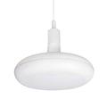 Agumi függeszték fehér + ajándék E27/18 Watt LED izzó