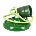 Porcelán függeszték színazonos vezetékkel E27 - zöld