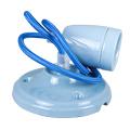 Porcelán függeszték színazonos vezetékkel E27 - kék