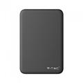 PowerBank külső akkumulátor SuperSmall (2xUSB) fekete - 5000 mAh