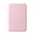 PowerBank külső akkumulátor SuperSmall (2xUSB) pink - 5000 mAh
