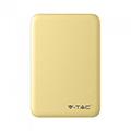 PowerBank külső akkumulátor SuperSmall (2xUSB) sárga - 5000 mAh