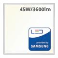 LED panel (600 x 600mm) 45W - természetes fehér - PRO Samsung (5 év!)