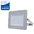 PRO LED reflektor (100W/100°) Hideg fehér - szürke