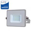 PRO LED reflektor (10W/100°) Hideg fehér - szürke
