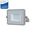 PRO LED reflektor (20W/100°) Hideg fehér - szürke