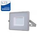 PRO LED reflektor (30W/100°) Hideg fehér - szürke