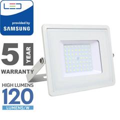 PRO LED reflektor fehér (50W/100°) természetes fehér, 120lm/W, Samsung