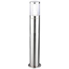 ATLANTA kültéri álló lámpa (1xE27) szatén króm színű 80 cm