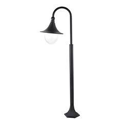 Konstanz kültéri állólámpa, fekete színben, 120 cm magas (E27)